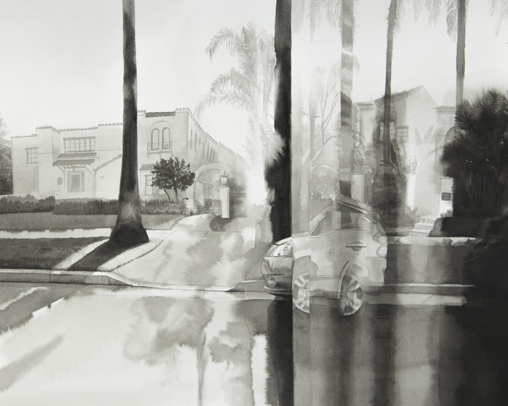 Southbound on N. Beverly Blvd.: Beverly Hills; Panel 6